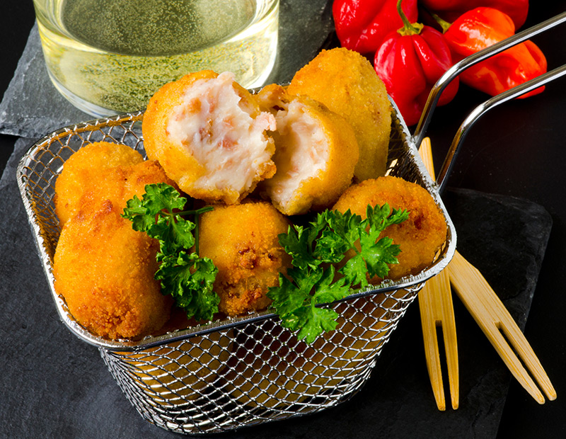 Croquettes jambon-fromage
